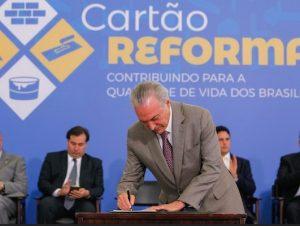 Governo dará até R$ 9 mil para baixa renda reformar casa própria
